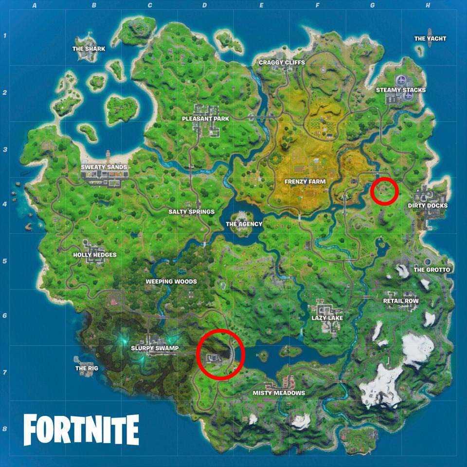 راهنمای چالش بازی Fortnite