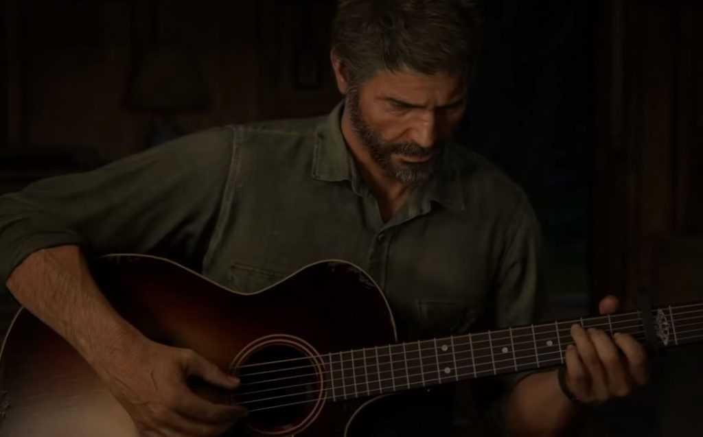 جوئل در بازی The Last of Us 2