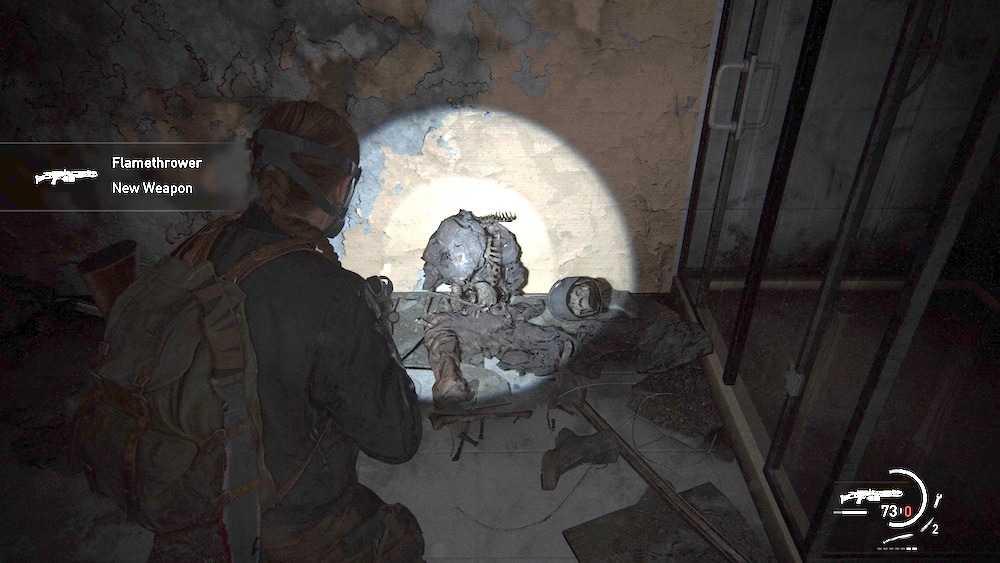شعله افکن بازی The Last of Us 2