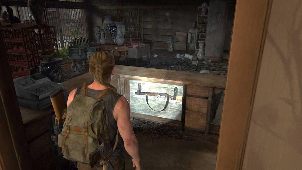 شات گان دولول بازی The Last of Us 2