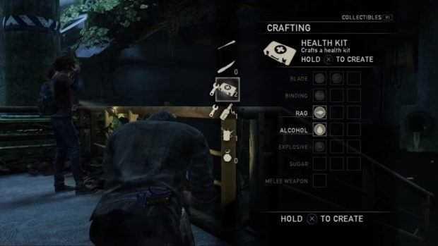 آیتم های بازی The Last of Us 2