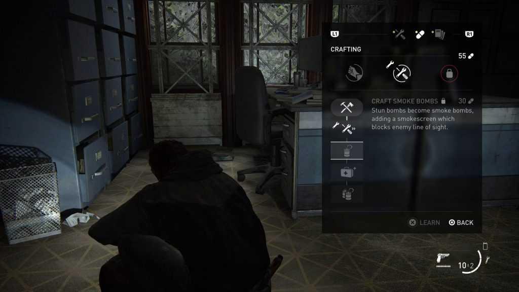 Stun Bomb بازی The Last of Us 2