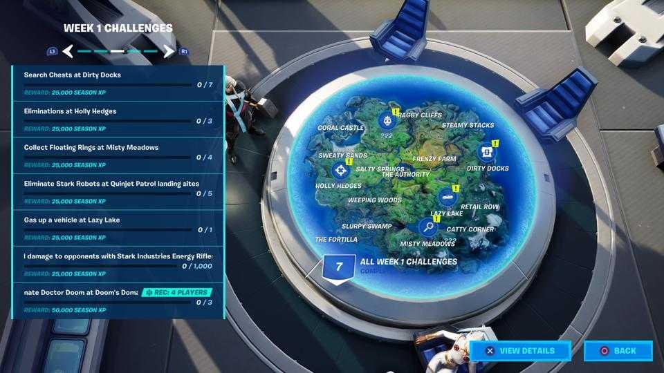 چالش های فصل چهارم بازی Fortnite - فورتنایت