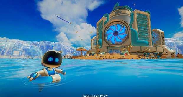 بازی Astro's Playroom در کنسول پلی استیشن 5