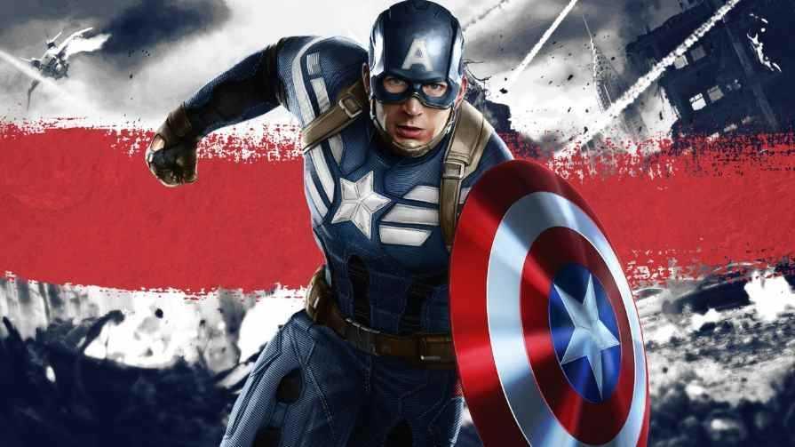 نقش شخصیت کاپیتان آمریکا