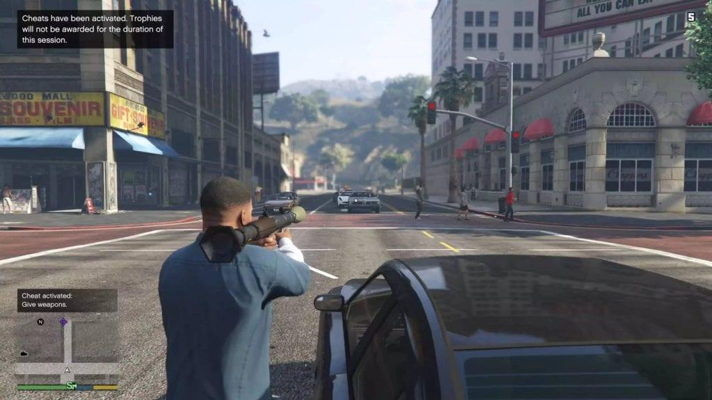 تیراندازی در بازی GTA V
