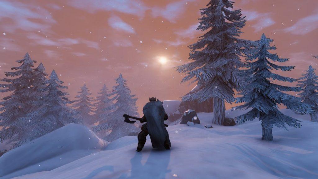 تصویری از بازی Velheim در زمستان