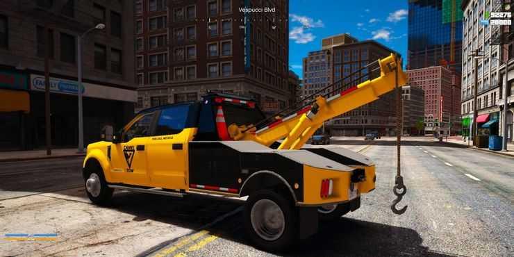 ماد ماشین بازی GTA V