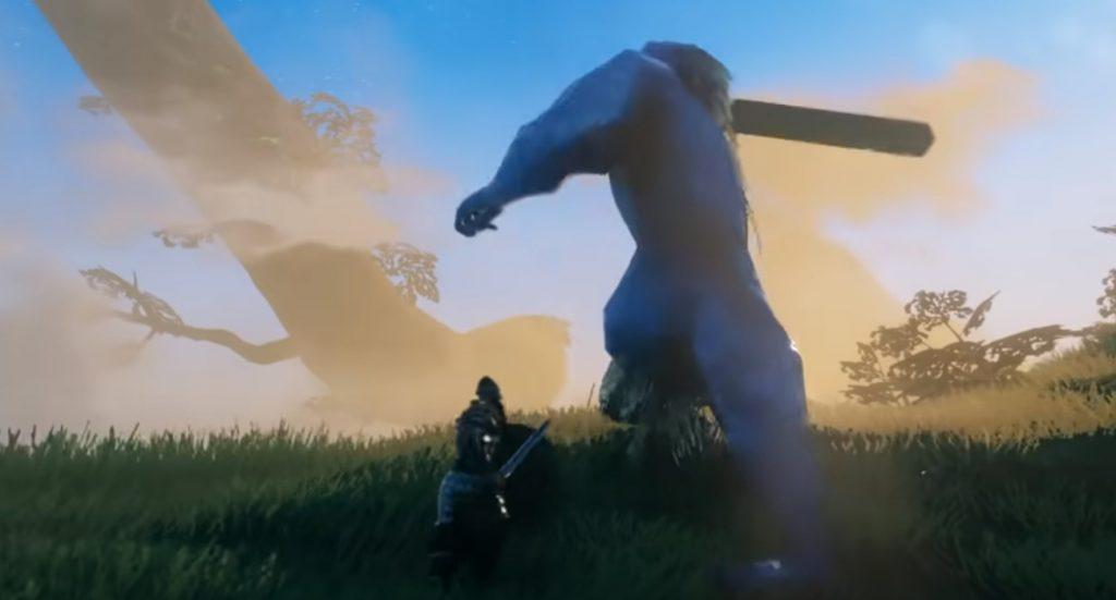 تصویری از مبارزه در بازی Velheim