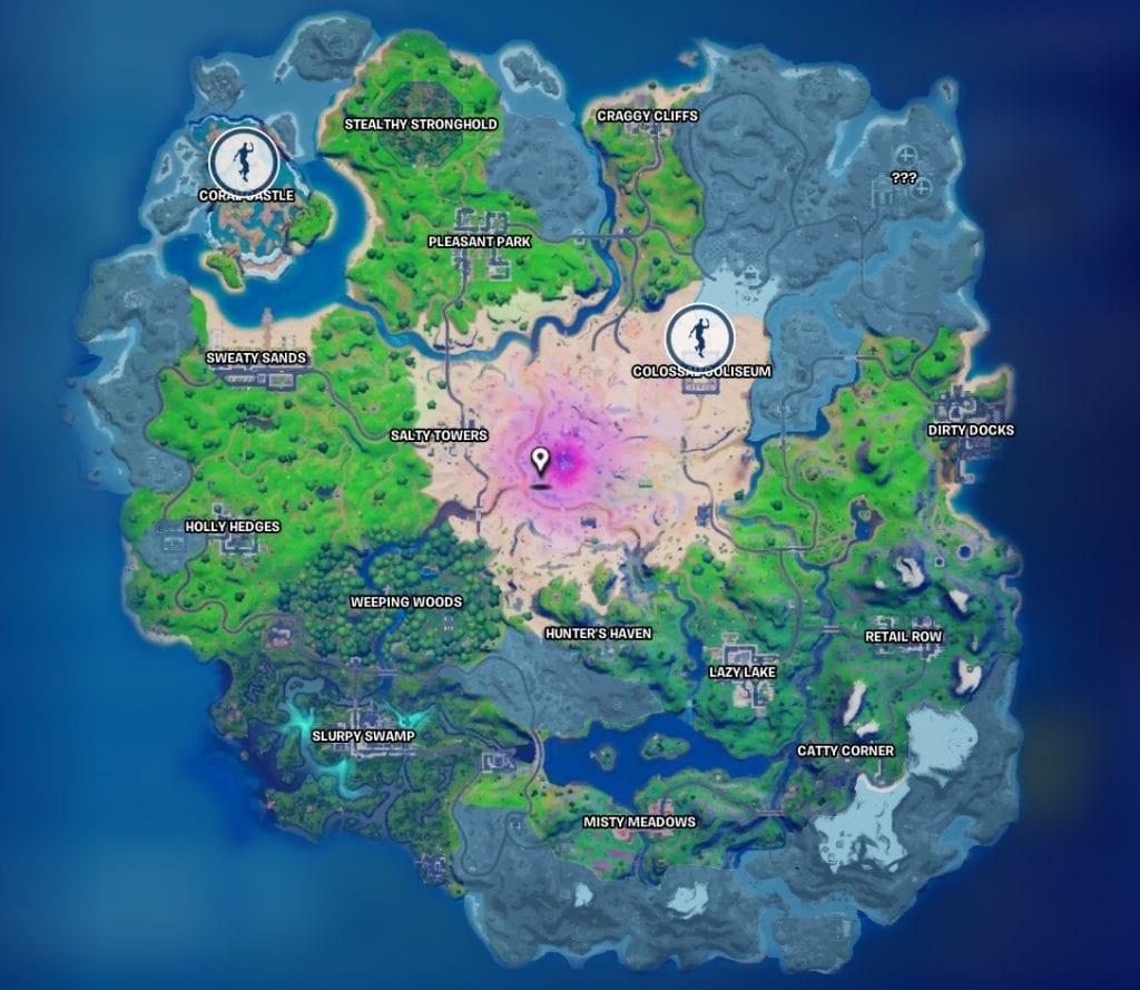 چالش هفته نهم بازی Fortnite