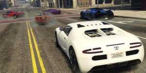 ماشین Infernus سفید رنگ در بازی GTA 5