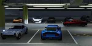 پارکینگ ماشینها در بازی GTA 5