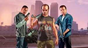 پوستر بازی GTA 5