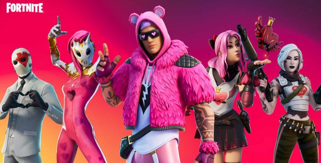 رویداد ولنتاین بازی Fortnite