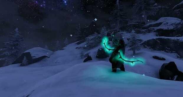 تصویری از کمان در بازی Velheim