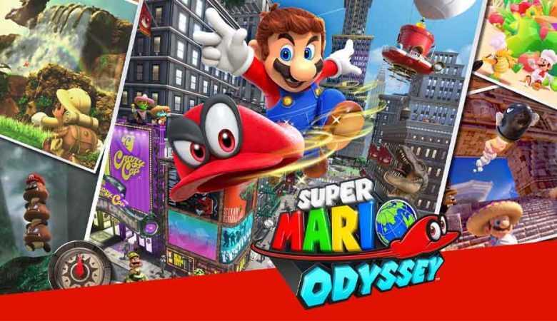دانلود بازی Super Mario Odyssey