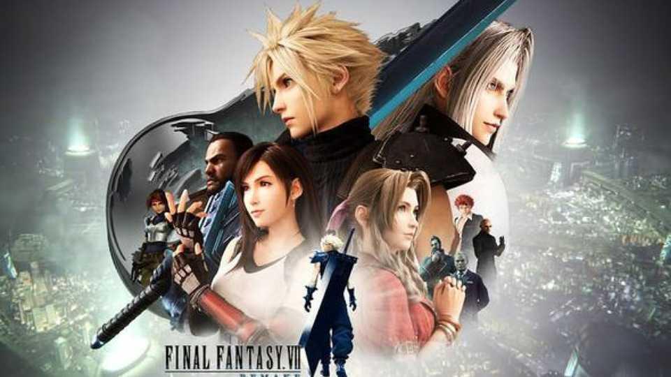 پوستر بازی Final Fantasy 7 Remake