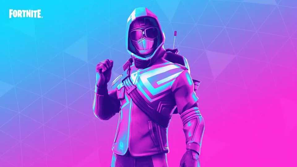 پوستری از بازی Fortnite