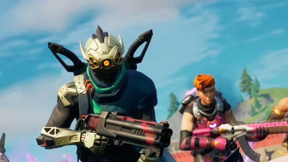 تصویری از بازی Fortnite