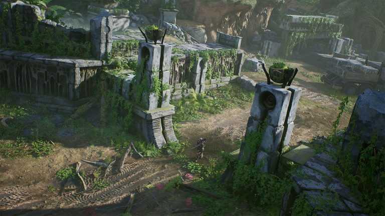 محیط یکی از مراحل بازی Outriders