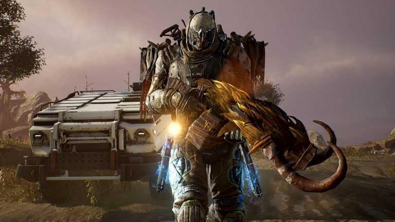 تصویری از شخصیت بازی روبه انتشار Outriders