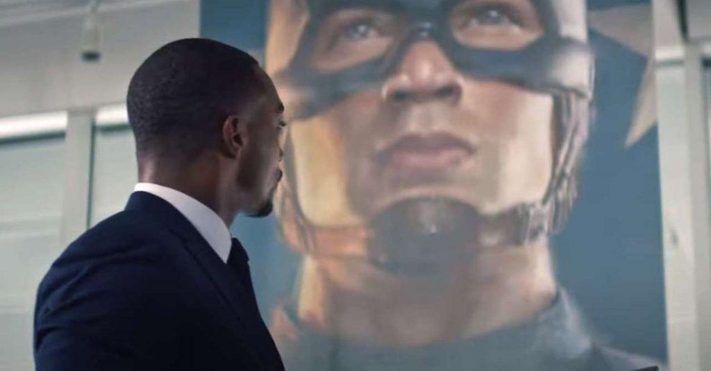 شخصیت کاپیتان آمریکا و فاکلن در سریال The Falcon and Winter Soldier